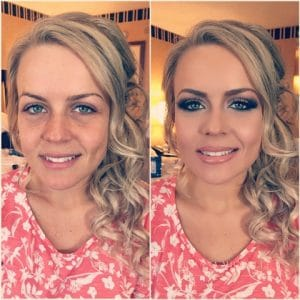 bachelorette party makeup beauty mobile makeup