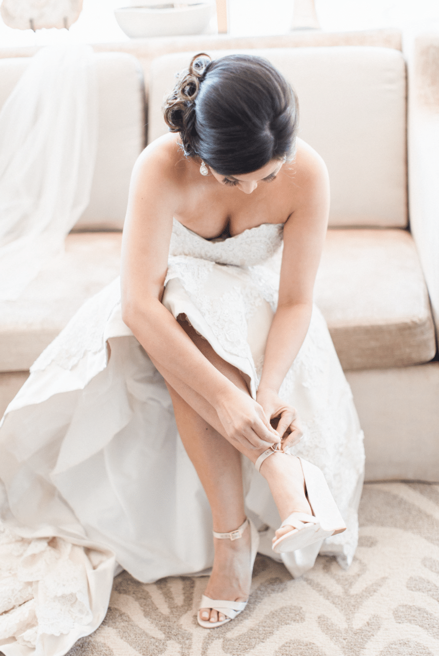 Bride with Hair and Makeup by Brianna Michelle Beauty