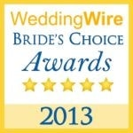 Brianna Michelle Beauty WeddingWire Bride's Choice Award 2013