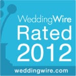 Brianna Michelle Beauty WeddingWire Rated 2012