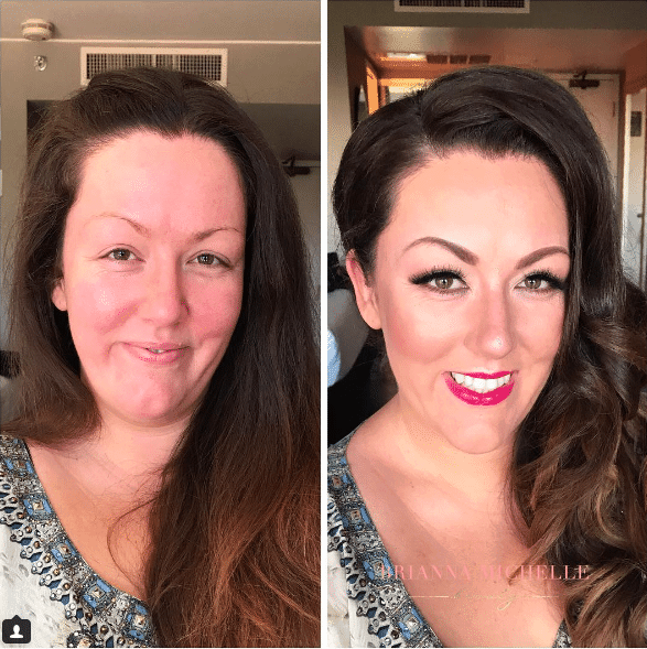 bachelorette party makeup