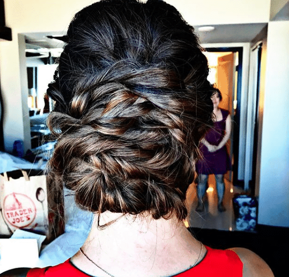wedding hairstylist
