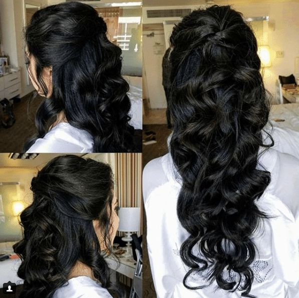 las vegas bridal hair