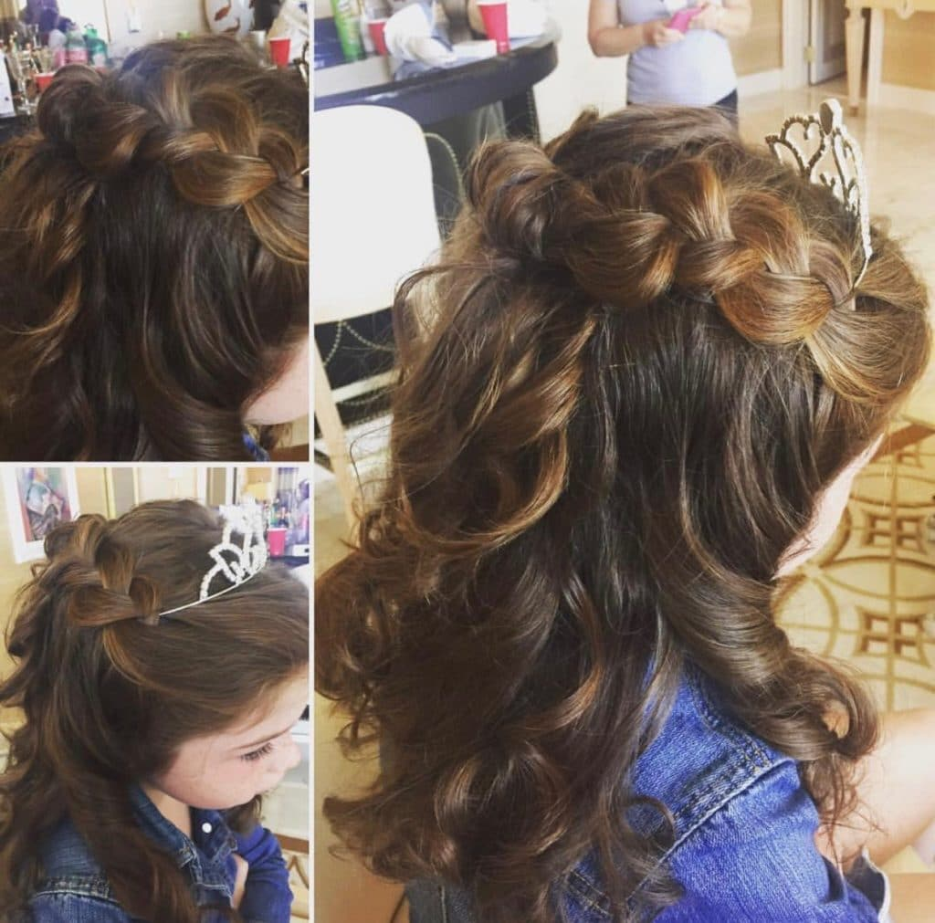 las vegas bridal hair
